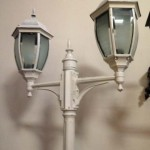 White Streetlamp - Prop For Hire