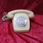 White Telephone - Prop For Hire