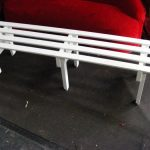 White Timber Benches - Prop For Hire