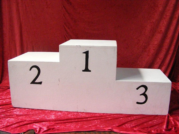 Winners Podium - Prop For Hire