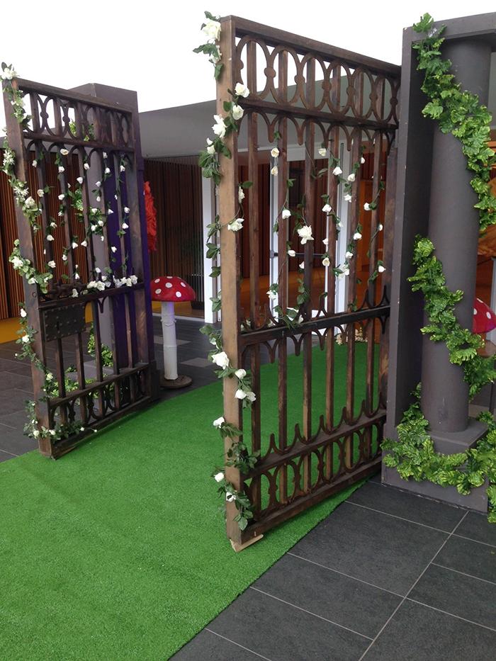 Wooden Garden Gates - Prop For Hire