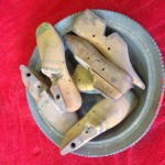 Wooden Shoe Moulds - Prop For Hire