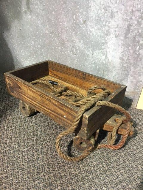 Wooden Trolley - Prop For Hire