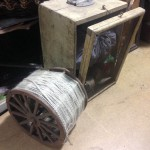 Wool Reel Box - Prop For Hire