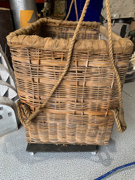 WW1 Observation Balloon Basket - Prop For Hire