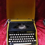 Yellow Typewriter - Prop For Hire